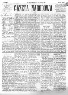 Gazeta Narodowa. R. 13 (1874), nr 219 (25 września)