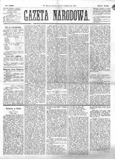 Gazeta Narodowa. R. 13 (1874), nr 225 (3 października)