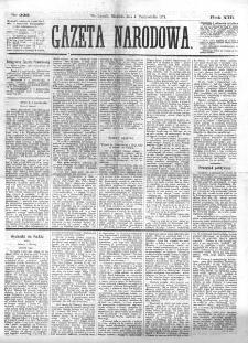 Gazeta Narodowa. R. 13 (1874), nr 227 (6 października)