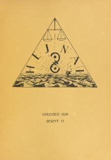 Hejnał nad Morzem Życia ze Szczytów Prawd Ducha i Praw Człowieka. Z. 12 (1929)