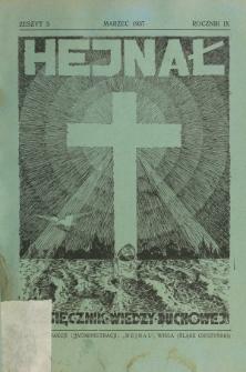 Hejnał nad Morzem Życia ze Szczytów Prawd Ducha i Praw Człowieka. R. 9, Z. 3 (1937)