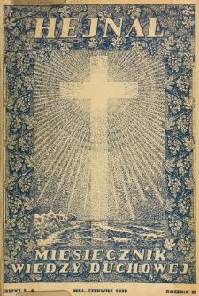 Hejnał nad Morzem Życia ze Szczytów Prawd Ducha i Praw Człowieka. R. 11, Z. 5/6 (1939)