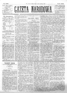 Gazeta Narodowa. R. 13 (1874), nr 228 (7 października)