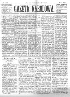 Gazeta Narodowa. R. 13 (1874), nr 229 (8 października)