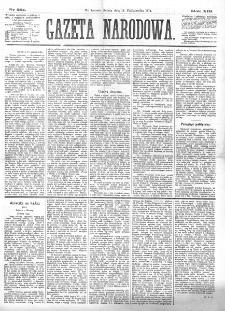 Gazeta Narodowa. R. 13 (1874), nr 231 (10 października)
