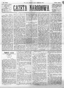 Gazeta Narodowa. R. 13 (1874), nr 232 (11 października)