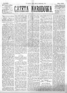 Gazeta Narodowa. R. 13 (1874), nr 236 (16 października)