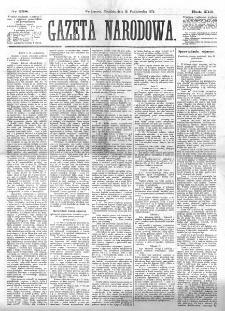 Gazeta Narodowa. R. 13 (1874), nr 238 (18 października)