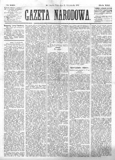 Gazeta Narodowa. R. 13 (1874), nr 240 (21 października)