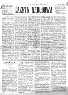 Gazeta Narodowa. R. 13 (1874), nr 241 (22 października)