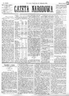 Gazeta Narodowa. R. 13 (1874), nr 242 (22 października)