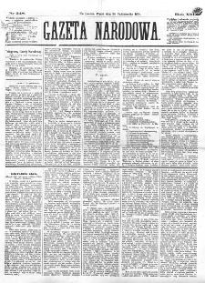 Gazeta Narodowa. R. 13 (1874), nr 248 (30 października)