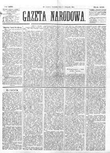 Gazeta Narodowa. R. 13 (1874), nr 250 (1 listopada)