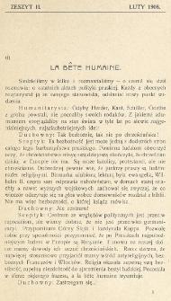 Krytyka : miesięcznik społeczny, naukowy i literacki. R. 10, z. 2 (1908)