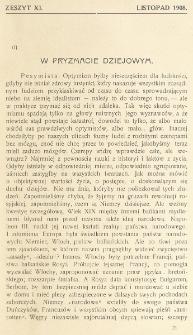 Krytyka : miesięcznik społeczny, naukowy i literacki. R. 10, z. 11 (1908)