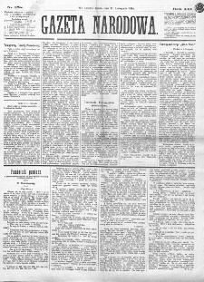Gazeta Narodowa. R. 13 (1874), nr 258 (11 listopada)