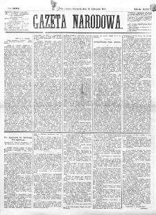Gazeta Narodowa. R. 13 (1874), nr 259 (12 listopada)