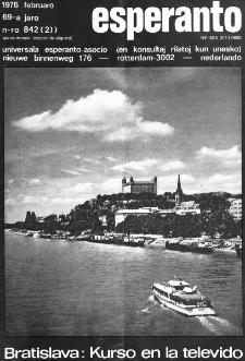 Esperanto : revuo internacia : oficiala organo de Universala Esperanto Asocio. Jaro 69, n. 842 (1976)