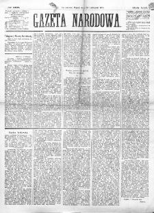 Gazeta Narodowa. R. 13 (1874), nr 266 (20 listopada)