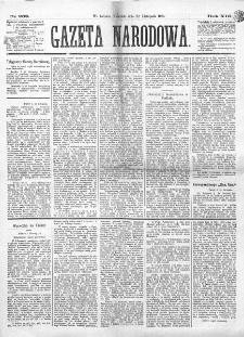 Gazeta Narodowa. R. 13 (1874), nr 268 (22 listopada)