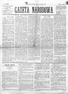 Gazeta Narodowa. R. 13 (1874), nr 269 (24 listopada)