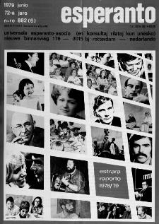 Esperanto : revuo internacia : oficiala organo de Universala Esperanto Asocio. Jaro 72, n. 882 (1979)