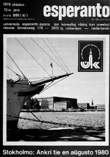 Esperanto : revuo internacia : oficiala organo de Universala Esperanto Asocio. Jaro 72, n. 886 (1979)