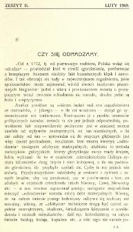 Krytyka : miesięcznik społeczny, naukowy i literack. R. 11 (luty 1909)