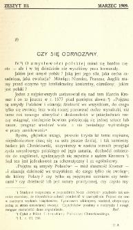 Krytyka : miesięcznik społeczny, naukowy i literack. R. 11, z. 3 (1909)