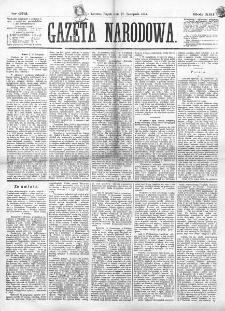Gazeta Narodowa. R. 13 (1874), nr 272 (27 listopada)