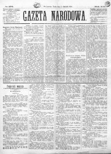 Gazeta Narodowa. R. 13 (1874), nr 276 (2 grudnia)