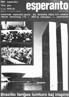 Esperanto : revuo internacia : oficiala organo de Universala Esperanto Asocio. Jaro 74, n. 909 (1981)