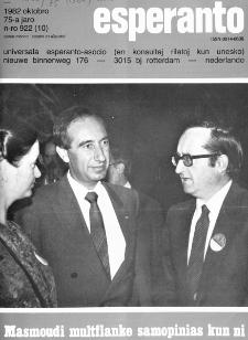Esperanto : revuo internacia : oficiala organo de Universala Esperanto Asocio. Jaro 75, n. 922 (1982)