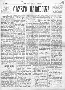 Gazeta Narodowa. R. 13 (1874), nr 278 (4 grudnia)