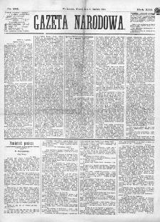 Gazeta Narodowa. R. 13 (1874), nr 281 (8 grudnia)