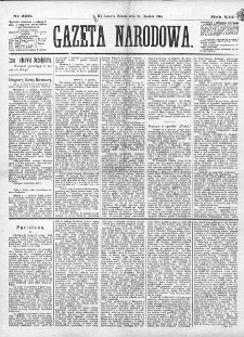 Gazeta Narodowa. R. 13 (1874), nr 290 (19 grudnia)
