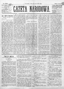 Gazeta Narodowa. R. 13 (1874), nr 293 (23 grudnia)