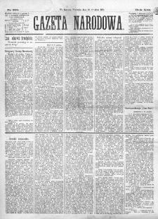 Gazeta Narodowa. R. 13 (1874), nr 291 (20 grudnia)