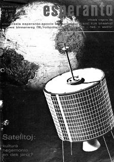 Esperanto : revuo internacia : oficiala organo de Universala Esperanto Asocio. Jaro 63, n. 771 (1970)