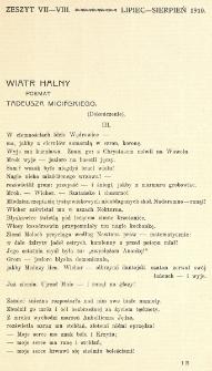 Krytyka : miesięcznik społeczny, naukowy i literacki. R. 12, Cz. 1, z. 7/8 (1910)