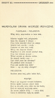 Krytyka : miesięcznik społeczny, naukowy i literacki. R. 12, Cz. 1, z. 12 (1910)
