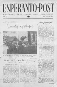Esperanto Post. Jg. 3, nr. 12 (1950)