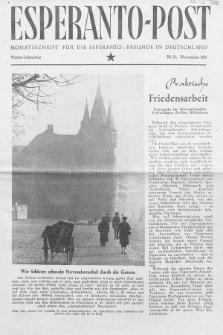 Esperanto Post. Jg. 4, nr. 11 (1951)