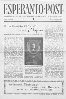 Esperanto Post. Jg. 4, nr. 12 (1951)