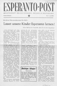Esperanto Post. Jg. 5, nr. 6 (1952)
