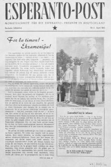 Esperanto Post. Jg. 6, nr. 4 (1953)