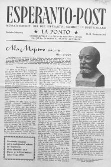 Esperanto Post. Jg. 6, nr. 12 (1953)