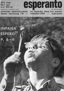 Esperanto : revuo internacia : oficiala organo de Universala Esperanto Asocio. Jaro 66, n. 809 (1973)