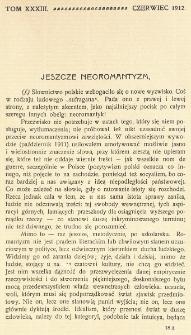 Krytyka : miesięcznik społeczny, naukowy i literacki. R. 14, z. 6 (1912)