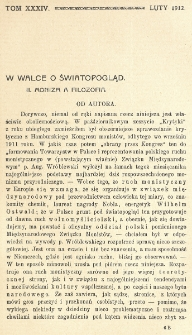 Krytyka : miesięcznik społeczny, naukowy i literacki. R. 14, Cz. 2 (luty 1912)